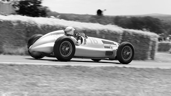 1939 Mercedes Benz W165 1500cc supercharged V8 Sir Jackie Stewart Goodwood Festival of Speed 2014
