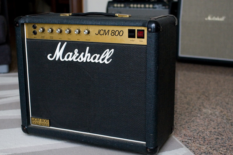 The legendary 4010 model, single channel 50 watt JCM800!