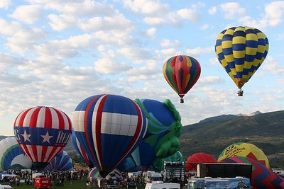 Ogden Valley Balloon Festival 2005