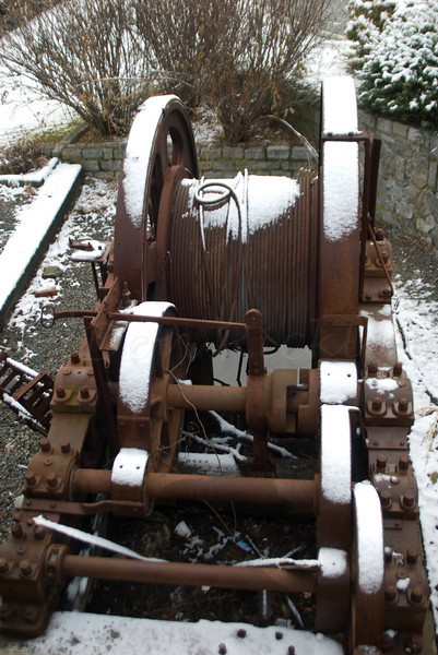 Old Dry Dock Winch