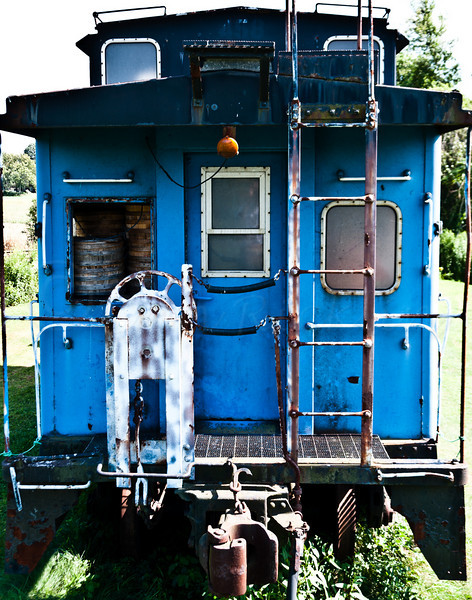 Old Blue Caboose
