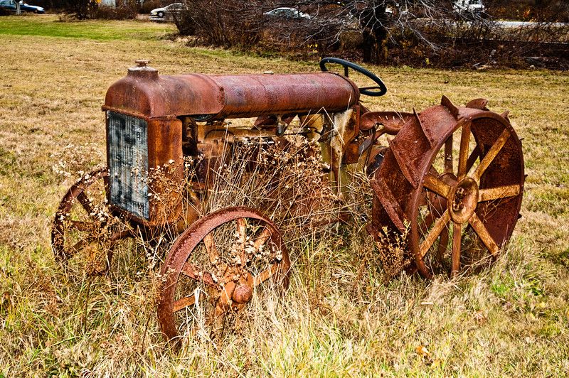 Old Rusted Fordson Tractor