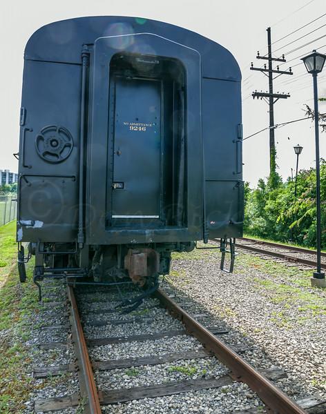 Bytown Raileay baggage car, 9246