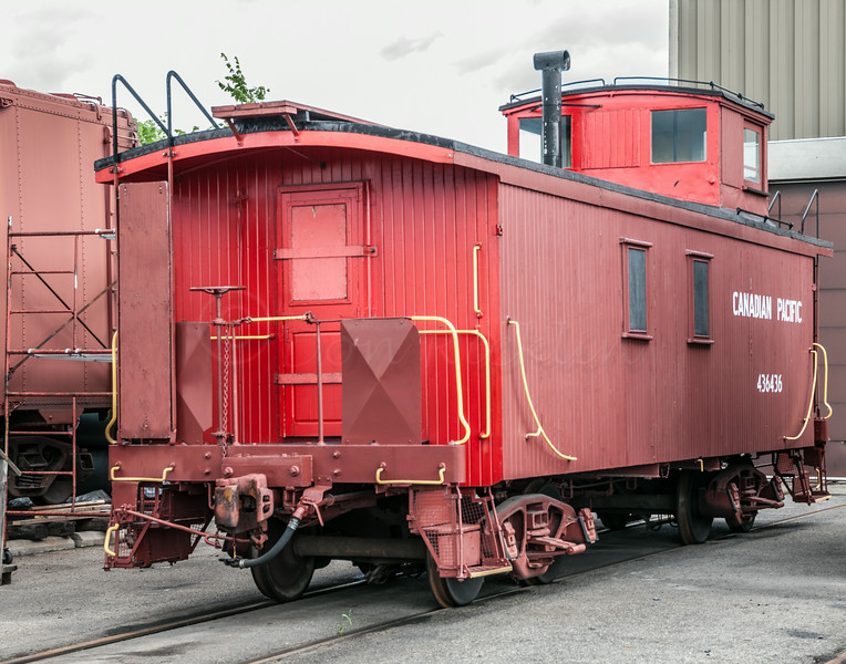 Canadian Pacific Cabouse, 436436