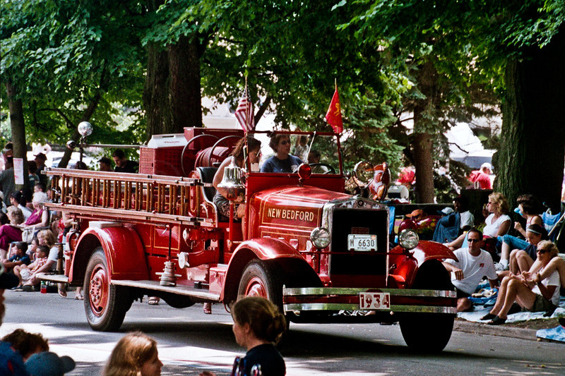 1934 Hose And Ladder Fire Truck