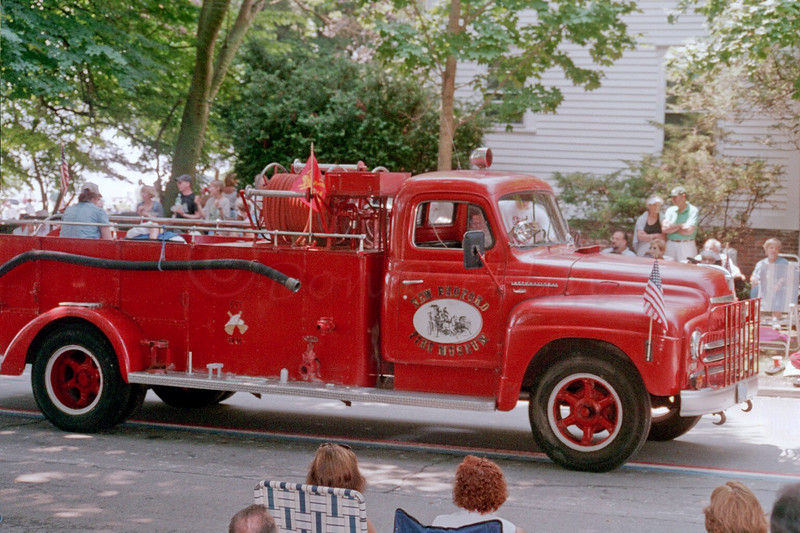Fire Truck on Parade
