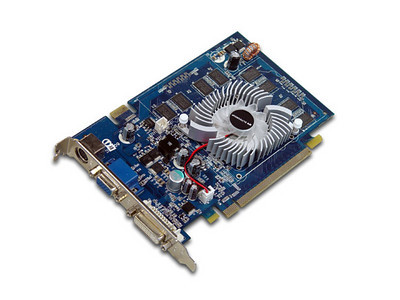 New card may 2011 ATI 5830 replaced this card # NVIDIA® GeForce™ 8600GT GPU # 512MB DDR3 Memory # 128BIt data bus # HDTV,  DVI-I, CRT # PCI Express interface