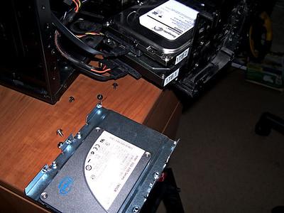 Added 180 Gig SSD
