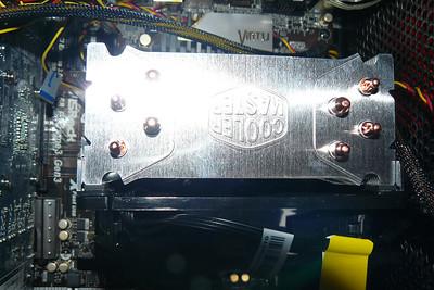 New CPU COOLER Hyper212 from top