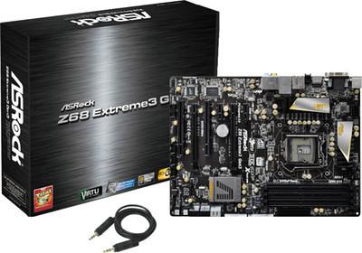 ASROCK Z68 motherboard