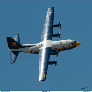 Blue Angels' C-130