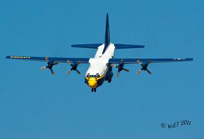 Comming In Hard For Short Field Landing