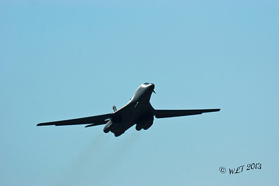 B-1 Bomber at Take-Off