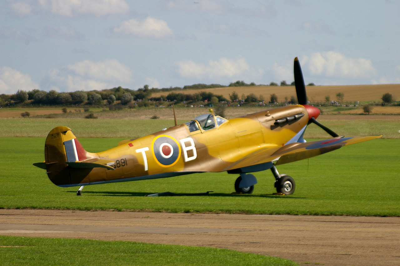 Spitfire, Desert Spec, Duxford