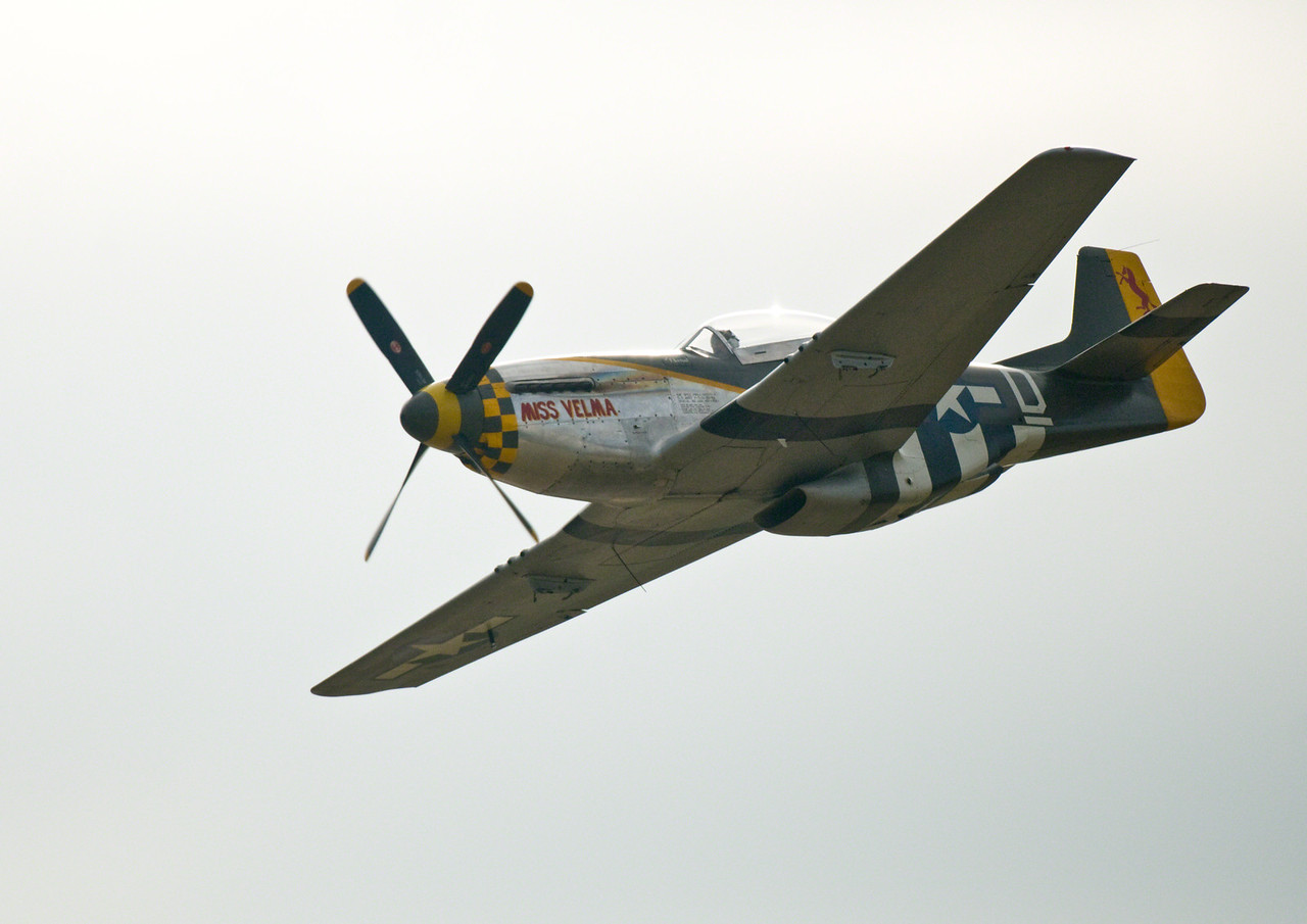 Mustang at Duxford 2011. Very nice example and very well flown.