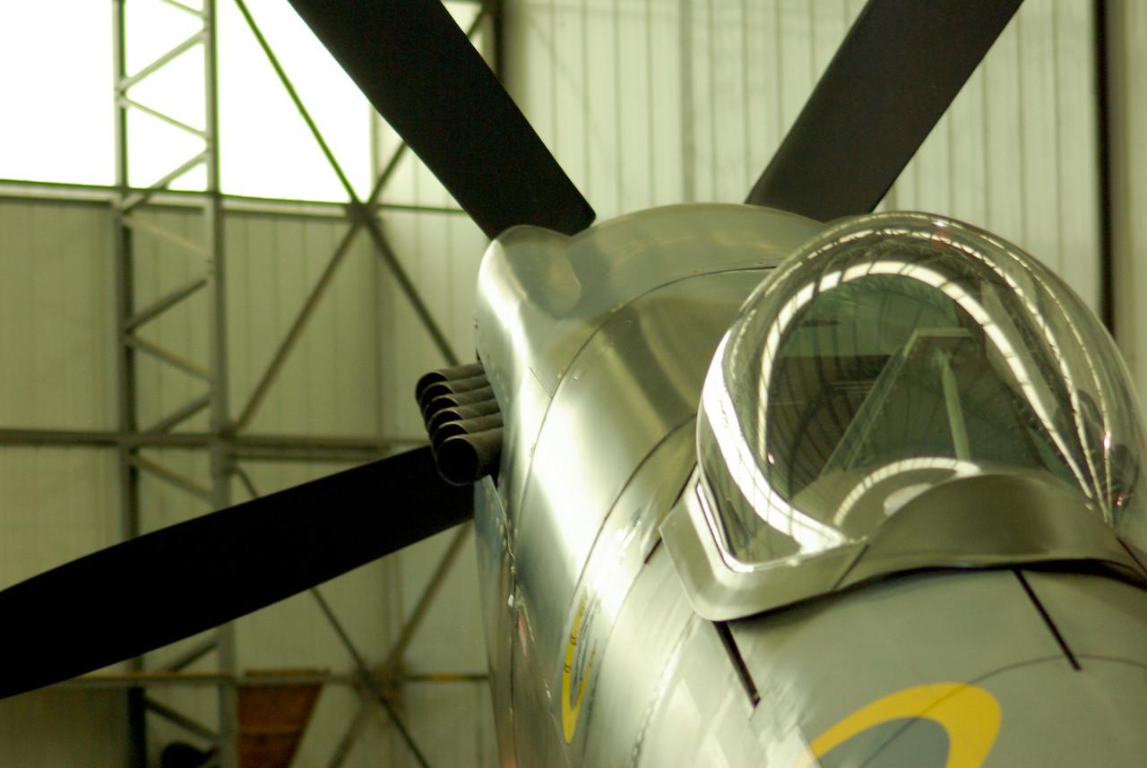 Spitfire. Duxford 2008