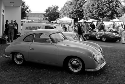Porsche 356 bw at the 2016 Goodwood Revival
