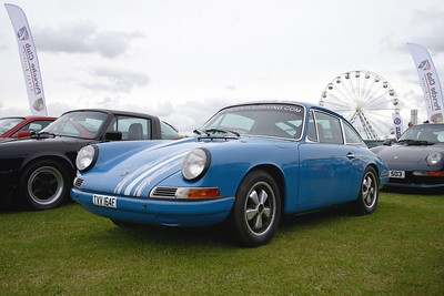 1968 Porsche 911 at the Silverstone Classic 2017