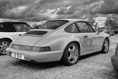 Porsche amongst Porsches 4 - Silverstone Classic 2016