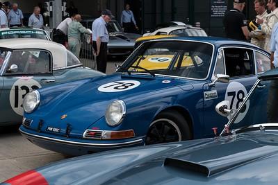 1965 Porsche 911 - Silverstone Classic 2018