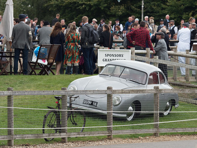 UUW 14 Porsche 356 on display - The Goodwood Revival 2018