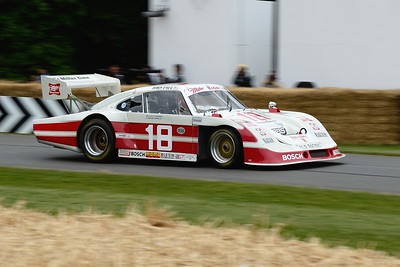 Porsche 935 JLP4 1979 3200cc turbo flat 6 John Fitzpatrick Goodwood Festival of Speed 2014