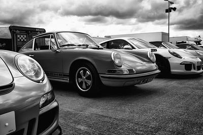 Porsche amongst Porsches - Silverstone Classic 2016