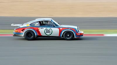 1974 Porsche 911 RSR Jeremy Cooke Silverstone Classic 2015