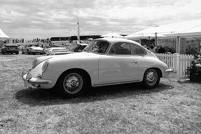 Porsche 356 Posing - Silverstone Classic 2018