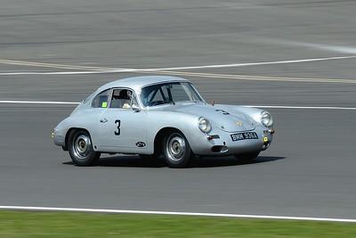 Silverstone Classic 2014- 1961 Porsche 356