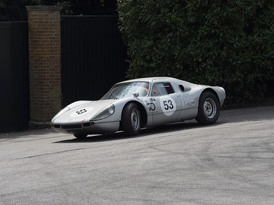 1964 Porsche 904-8 - Uwe Niermann - at the Goodwood Festival of Speed 2018