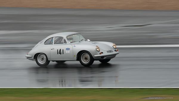 1962 Porsche 356 Coupe GT - Gareth Burnett  -  Silverstone Classic 2019