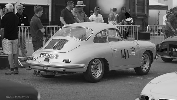 1962 Porsche 356 Coupe GT BW  -   Silverstone Classic 2019