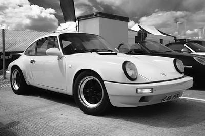 Porsche amongst Porsches 2 - Silverstone Classic 2016