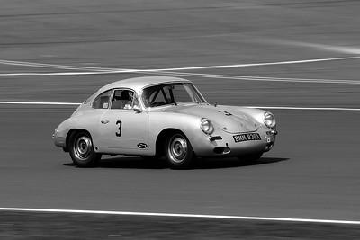 Silverstone Classic 2014- 1961 Porsche 356 BW