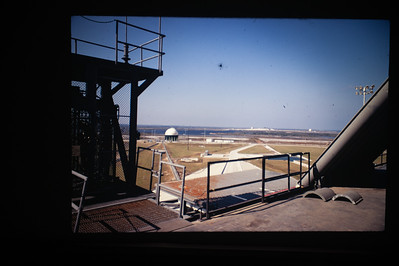View from the Saturn V launch platform