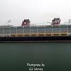 Disney Dream in the rain at Port Canaveral