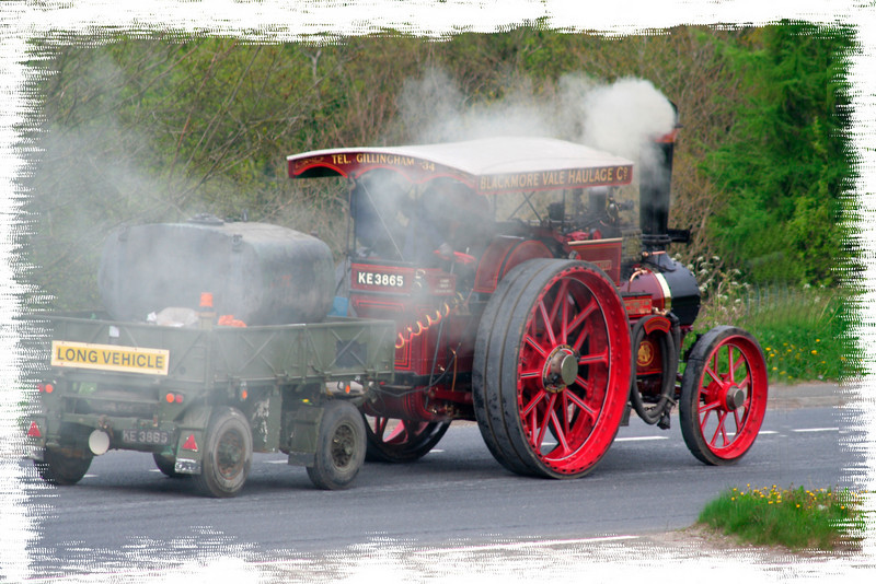 steam engine in a hurry