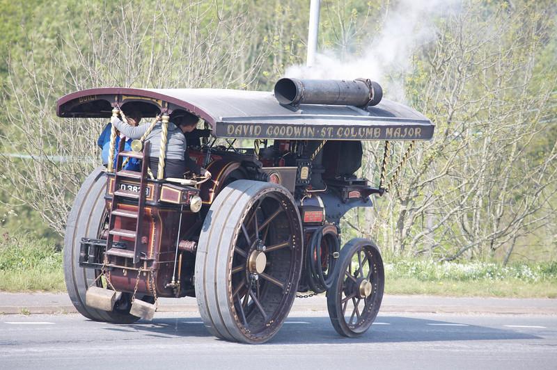 old steam engine full throttle