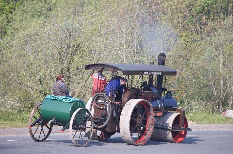 steam engine taken on trevithick day