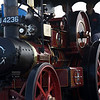 steam engine close up