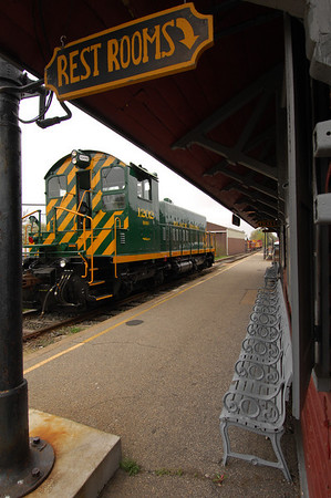 Locomotive at Ringoes Station