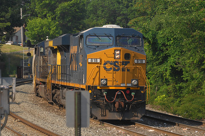 CSX locomotive