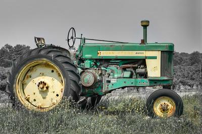 John Deer diesel tractor