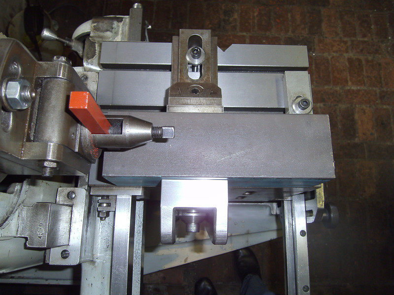 Shaper table side clamp4