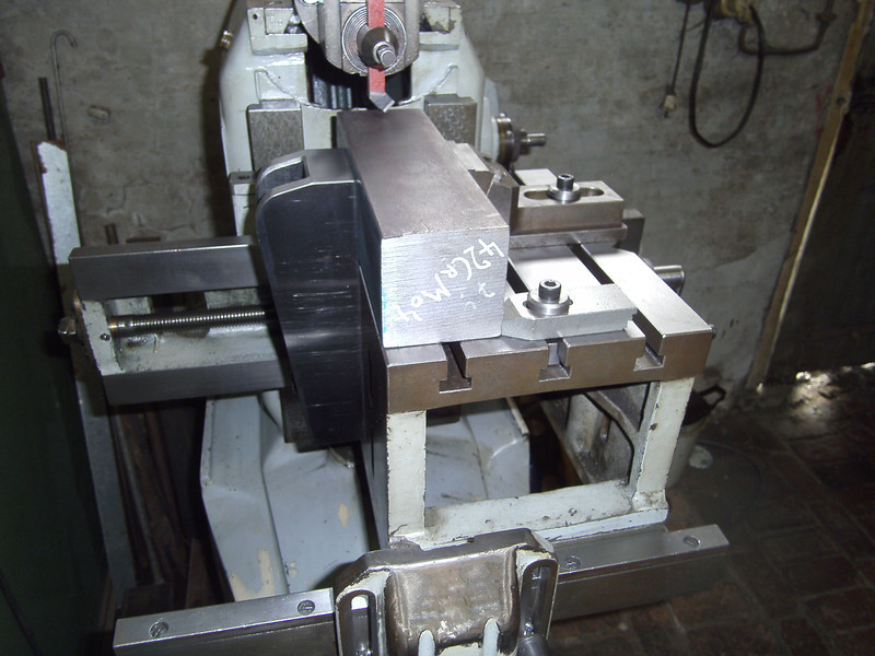 Shaper table side clamp2