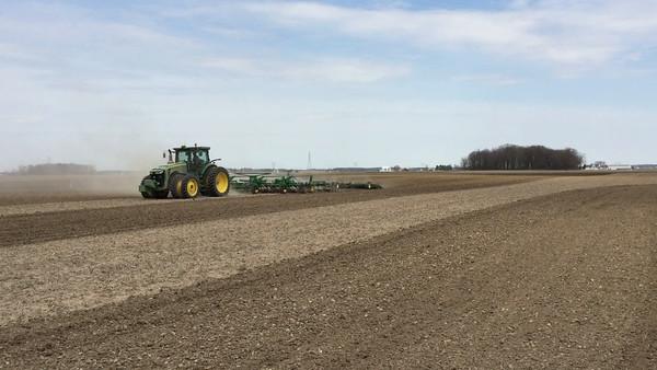Tilling the Miller farm