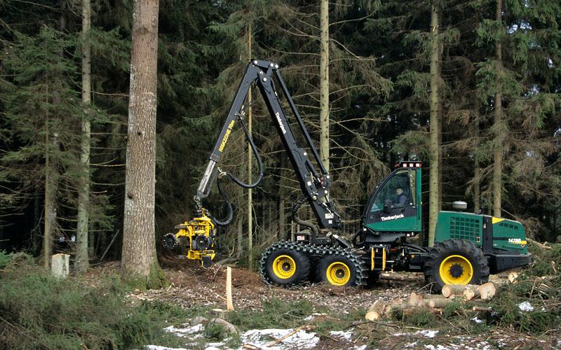 Timberjack 1470D
