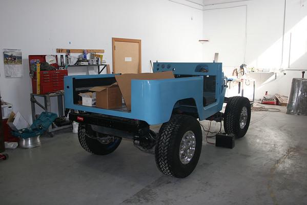 Toyota FJ40 project