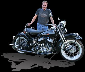 American Icons Buck & restored '47 Harley